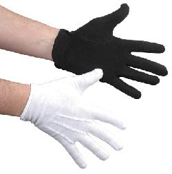 Mime Ministry Praise Dance Mime Expression Gloves Clown White