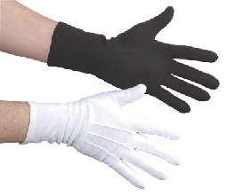 Praise Pantomime Dance Mime GLOVES COTTON MILITARY MARCHING BAND COLORGUARD