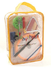 Kids Praise Instruments Rhythm Kit with Backpack