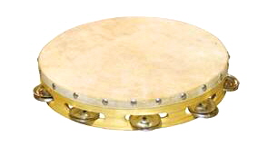 Worship Praise Dance Tambourine Percussion T10H 10 inch single